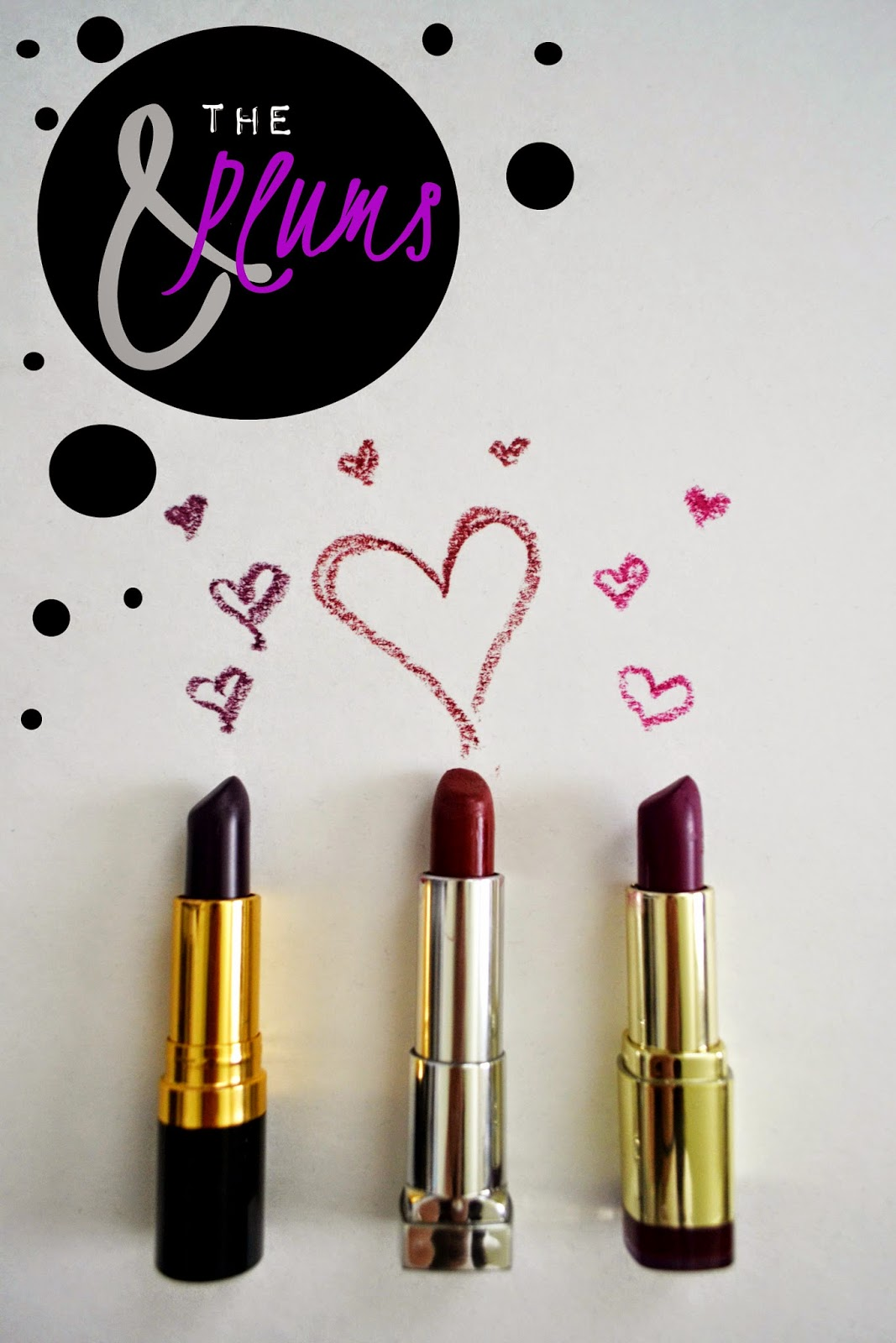 drugstore plum lipsticks
