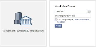 Cara Mudah Membuat Halaman di FB