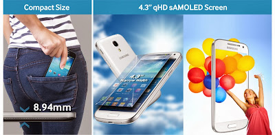 Samsung Galaxy S4 Mini, HDR feature, panorama mode, Jelly Bean 4.2, Android, Snapdragon processor, dual core, new samsung, new smartphone, AMOLED