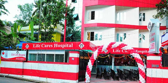 lifecares hospital trivandrum