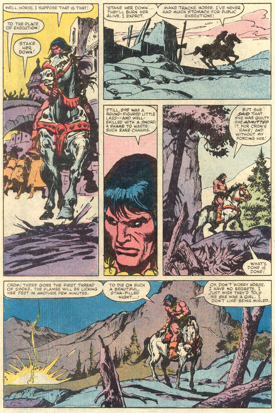 Conan the Barbarian (1970) Issue #134 #146 - English 8