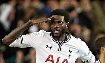 Redknapp back in for Adebayor