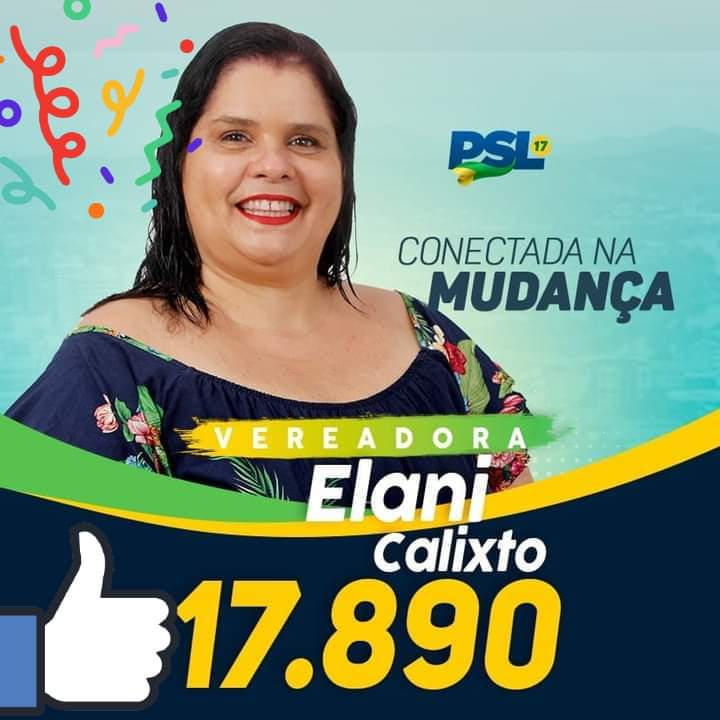 Vote Elani Calixto Vereadora Itabuna