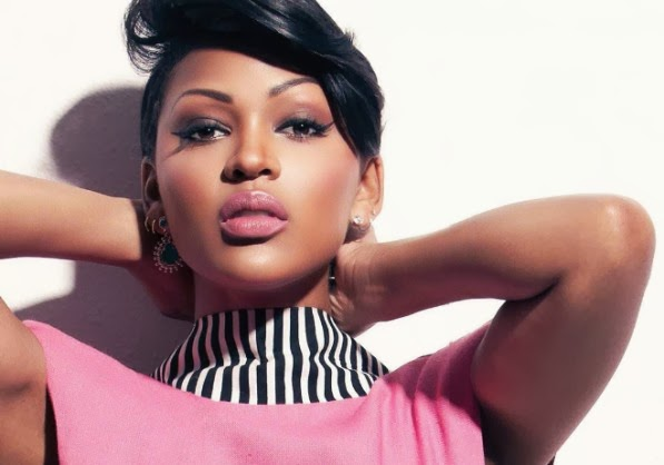 Meagan Good rocking a daytime smokey eye for FEARLESS Magazine