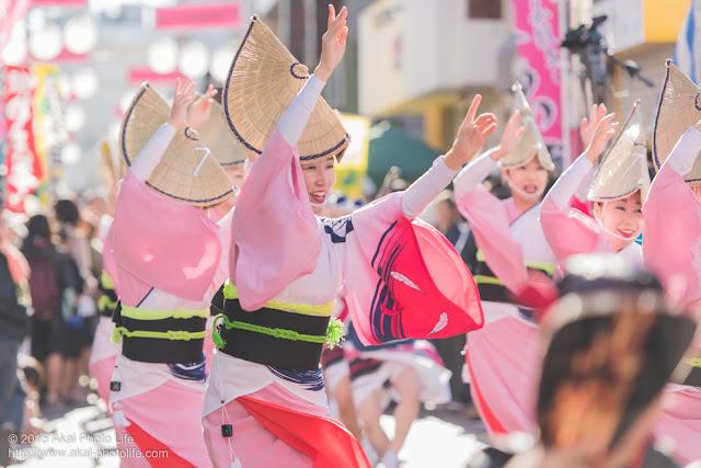 天翔連 清瀬駅南口・秋のふれあい祭り 阿波踊り