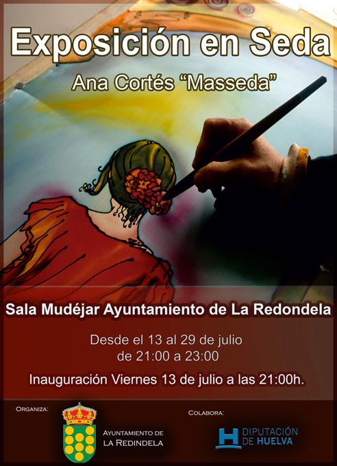 Exposición en Seda en Sala Mudéjar S.XV de la Redondela (Huelva)