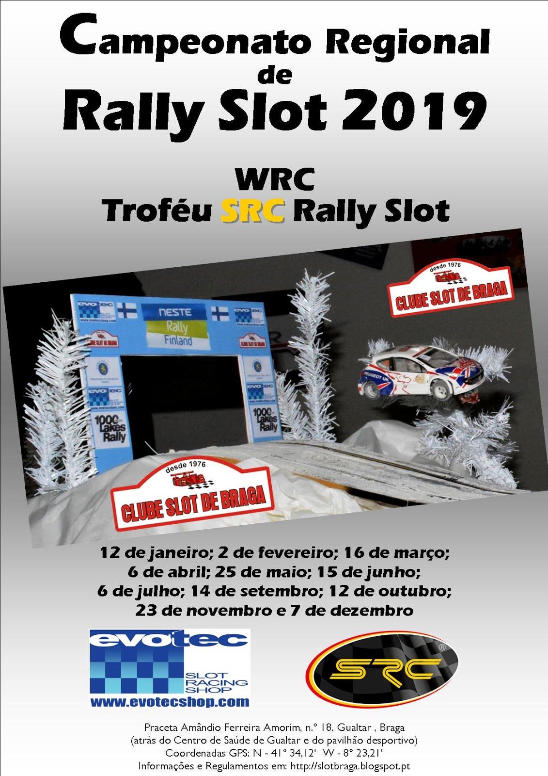 Campeonato Regional de Rally Slot de Braga 2019