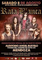 """RATA BLANCA EN EL """"AUDITORIO ÁNGEL BUSTELO"""" - 08/08/2015"""