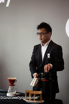 Mike Yung - Pacific Coffee at Dataran Pahlawan Melaka Megamall launch