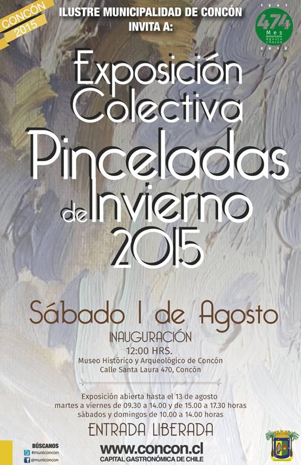Agosto 2015 - EXPOSICION COLECTIVA MUSEO DE CONCON