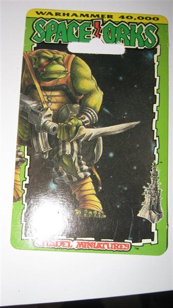 Blister de Orkos de Warhammer 40000