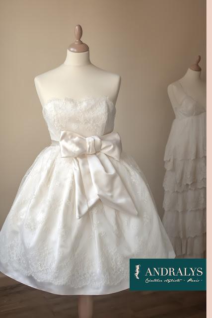 Robe de mariée rétro 2013