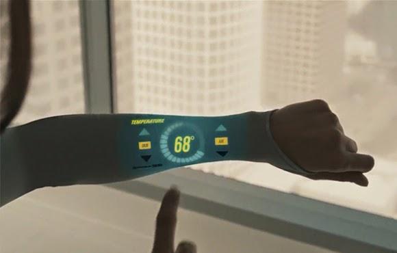 Under Armour 未來概念廣告