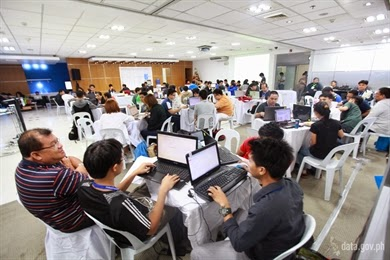 Globe-powered hackathon by PS-PhilGEPS