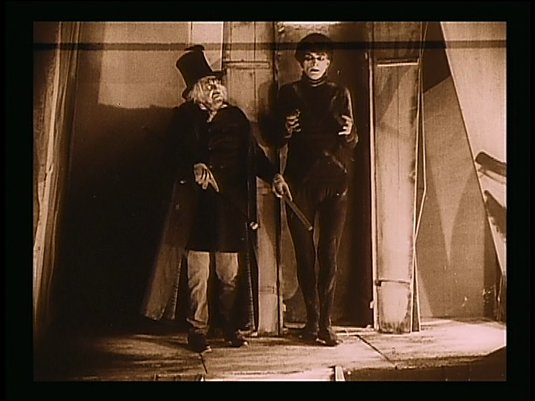 Ithankyou art of darkness the cabinet of dr caligari 1920 - The cabinet of dr caligari cesare ...