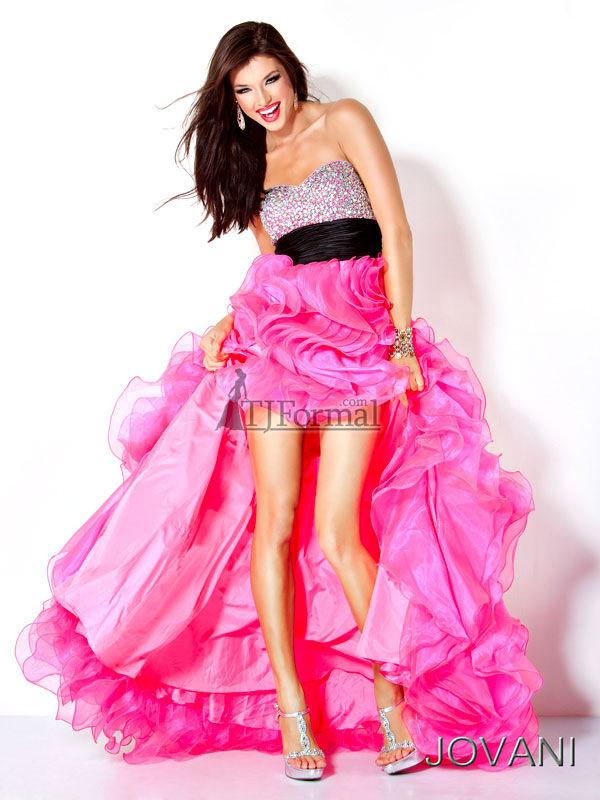 TJ Formal Dress Blog: Prom Trends 2012 - High-Low hemlines
