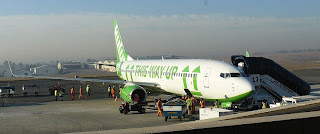 Kulula Airlines Boeing 737-800 commercial jet aircraft