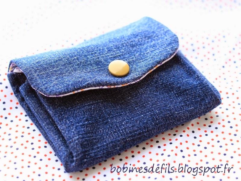 Porte-monnaie à soufflets / bobinesdefils.blogspot.fr