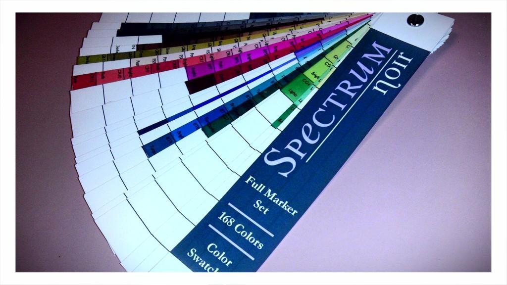 Kari\'s Place: Spectrum Noir Color Swatch Book