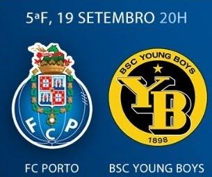 19 de setembro, 20h: Porto