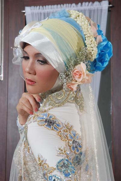 Foto Jilbab Pengantin