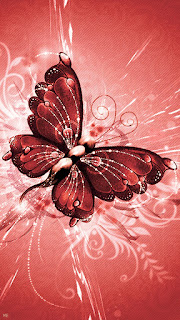 Brown Butterfly Mobile Wallpaper