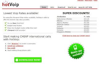 Hotvoip llamadas a moviles españoles baratas