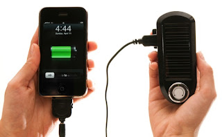 Portable Solar Powered Mobile Phone Battery Charger