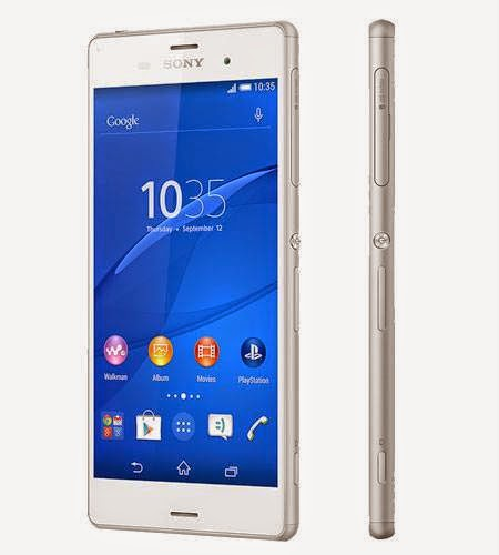 August 2014, sony xperia z3 price in pakistan note that
