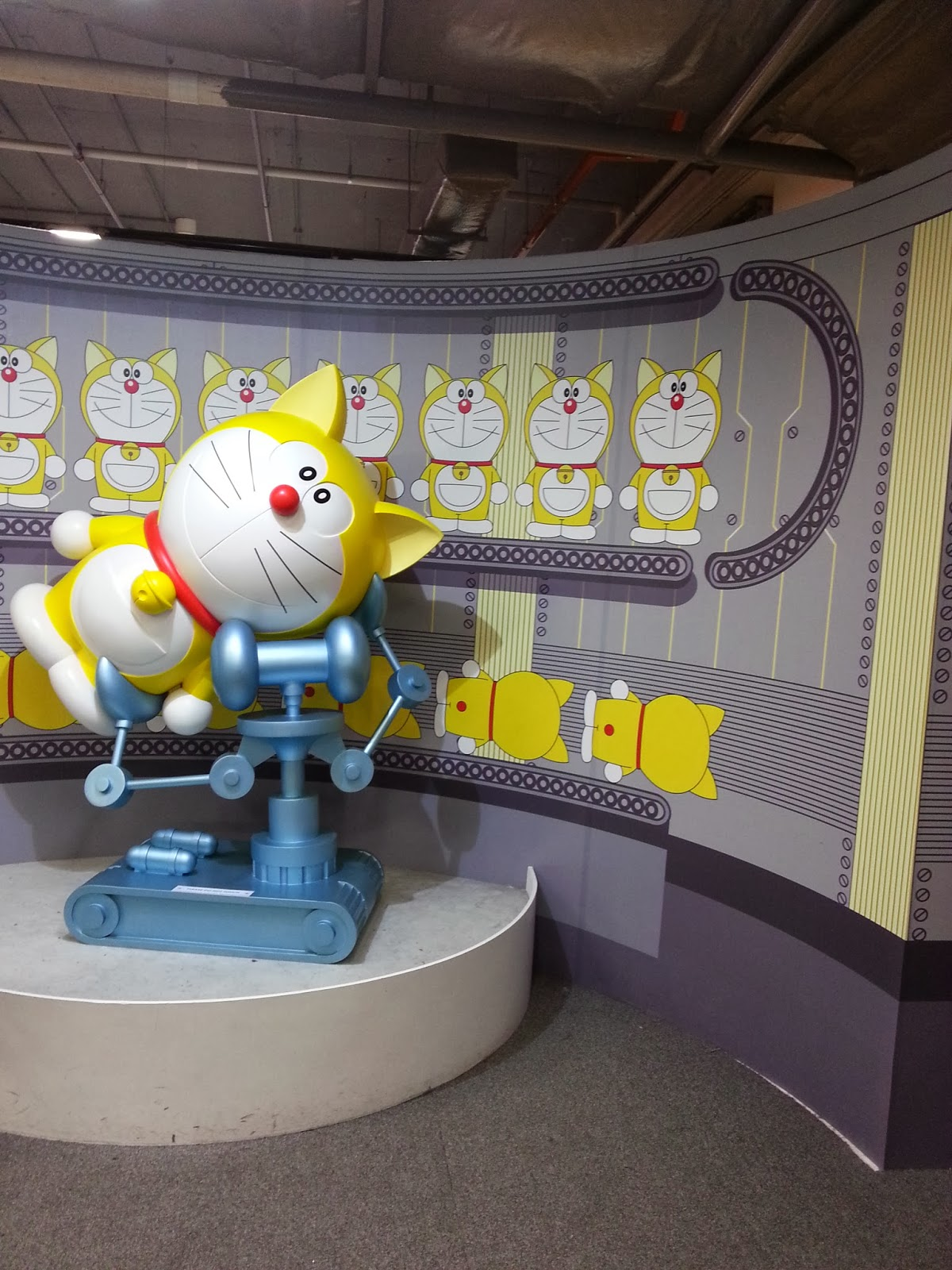 Let s check out this largest doraemon exhibition ever in malaysia first in south east asia happens from 14th december 2013 23rd march 2014 showcases 100