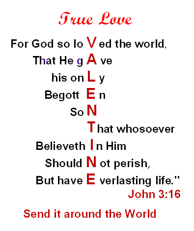 Guitar guitar chords qing tian : Welcome: True Love On Valentine's Day ~ John 3:16