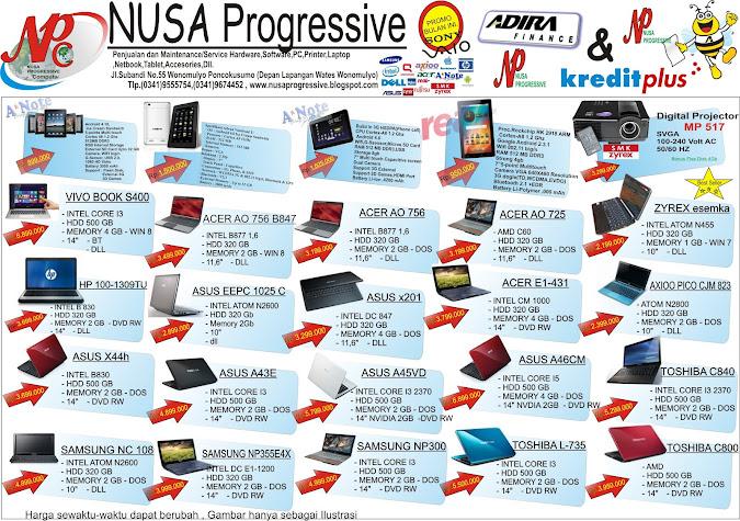 Brosur NusaProgressive April 2013