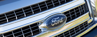2013 Ford F-150 grille logo