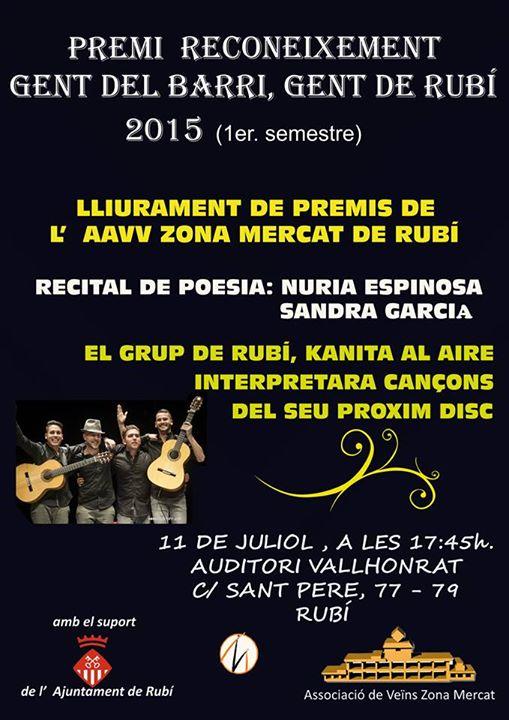 Recital poético 11-7-2015