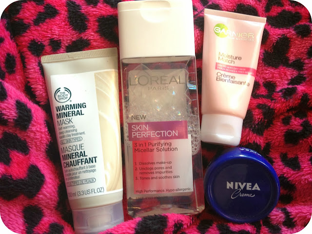 Top 4 products for sensitive skin