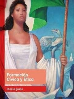 Libros de texto ciclo escolar 2014-2015 Quinto Grado Formación Cívica y Ética por bloque