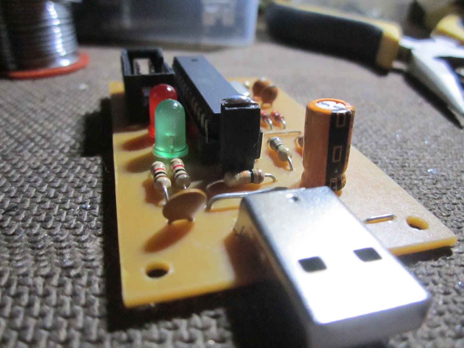 Horizon Of Electronics Usbsap Usb Programmer For Atmel Avr Microcontrollers So Hear First I Would Like To Introduce How Build Your Own Usbasp