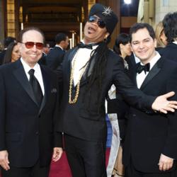 Sergio Mendes, Carlinhos Brown e Carlos Saldanha - Oscar 2012