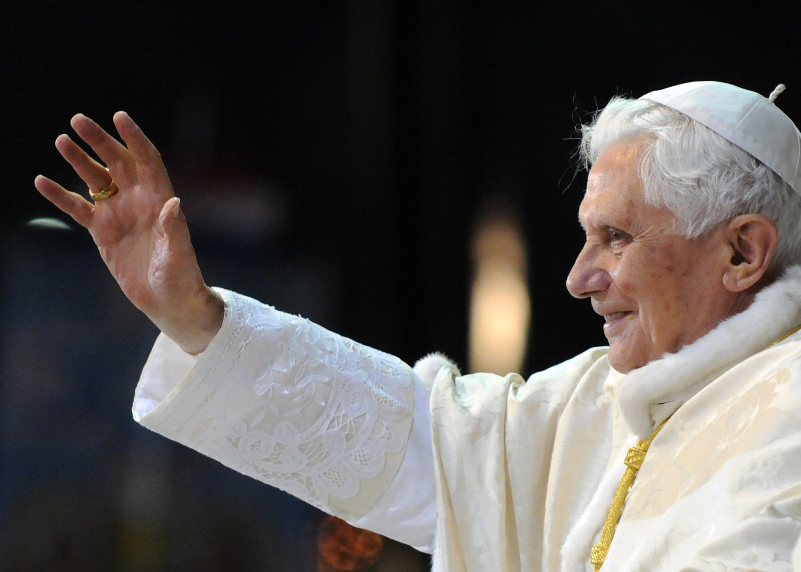 Pope Benedict Has Embraced Mary's Title