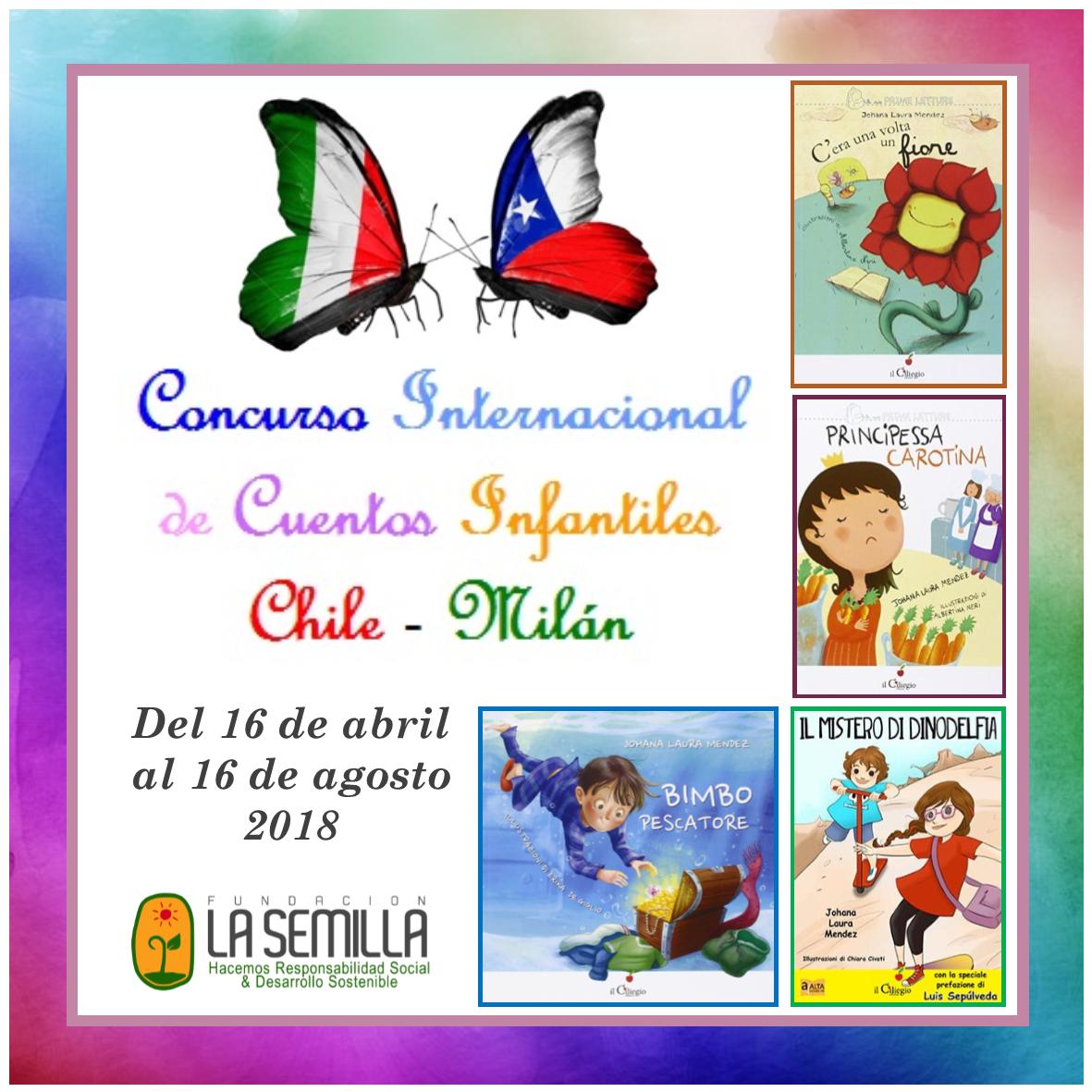 Concurso Internacional de Cuentos Infantiles Chile-Milán 2018