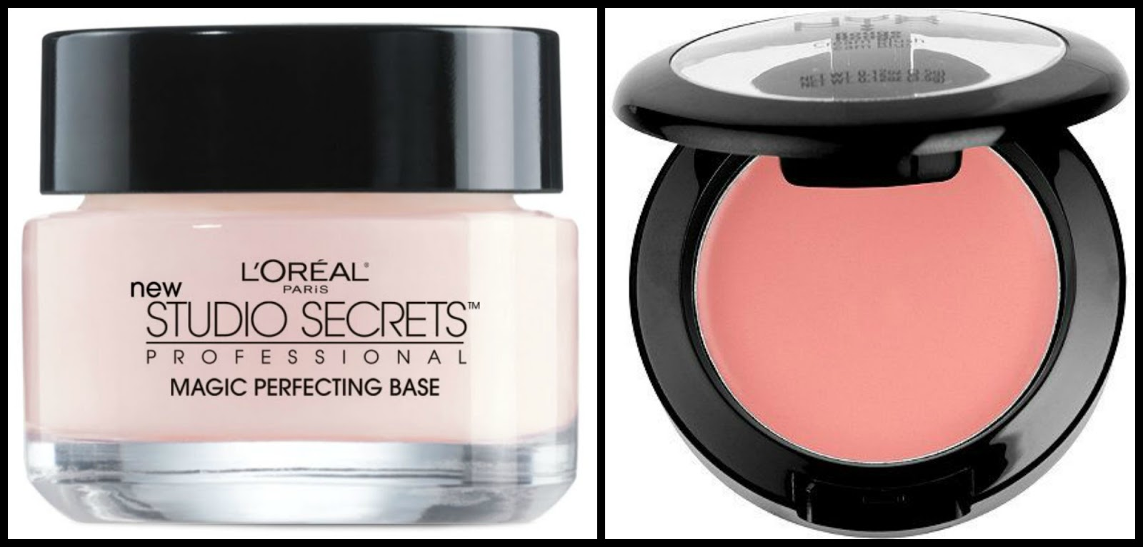 5 Great TOTALLY BUDGET FRIENDLY Products that Keep Your Makeup ON Longer! 3 products are under $10 and the other two are under $15! Budget friendly, drugstore primers | L'Oreal Studio Secrets Professional Magic Perfecting Base face primer, Nyx Cosmetics cream blush - Manicurity.com