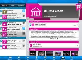 Official London 2012 join in mobile Application, buy online tickets of olympic 2012, venues of olympic 2012, best mobile applications for live scores