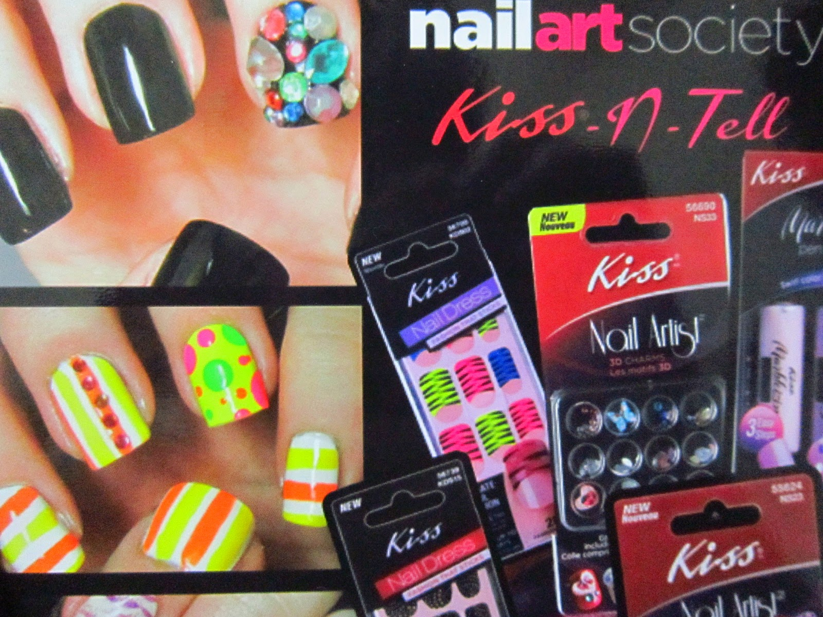Glam Fiend: May\'s Nail Art Society box