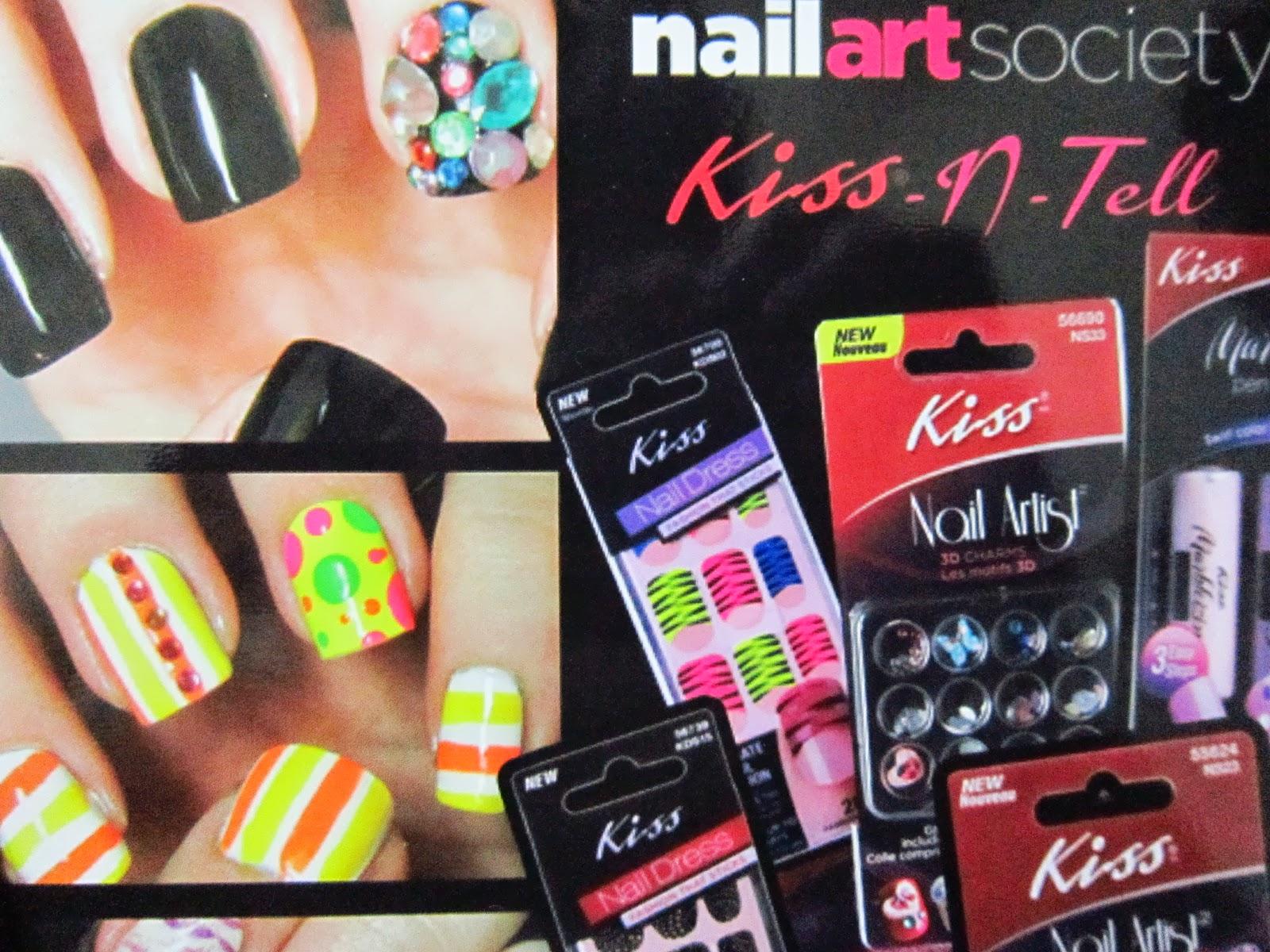 Glam Fiend Mays Nail Art Society Box