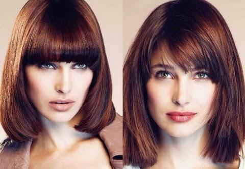 Модные женские прически на средние волосы