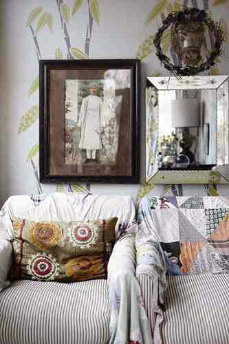 Dekoracyjne kapy na fotelach