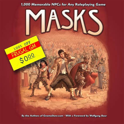 Free GM Resource: Masks