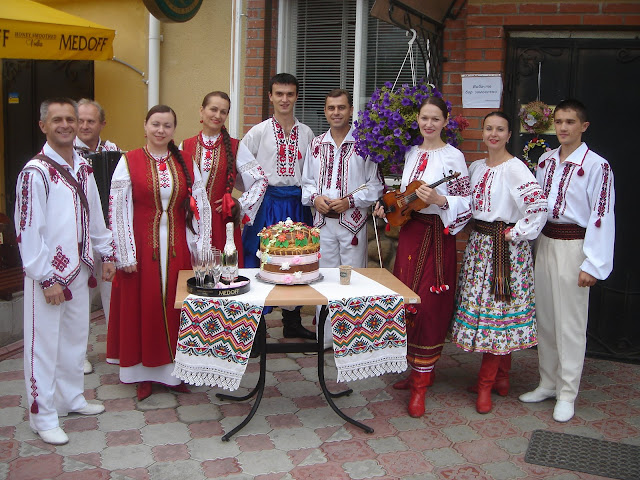 The Veseli Halychany, a best folk musicians from Ternopil, West Ukraine