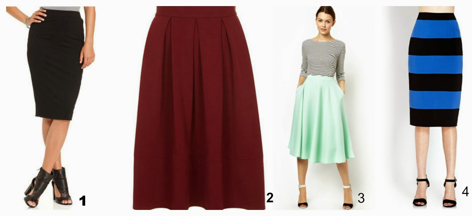 Bar iii midi skirt, shoes to wear with midi skirt
