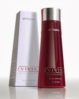 Vivix, tonik anti penuaan, antioksidan, ubat kencing manis, ubat darah tinggi, awet muda